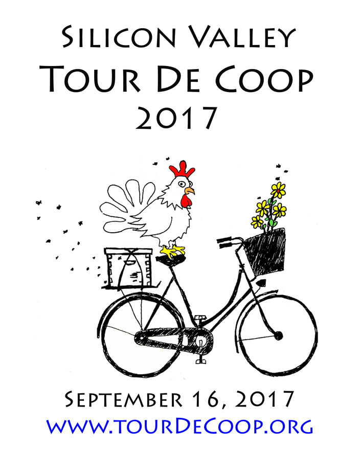 Silicon Valley Tour De Coop 2017
