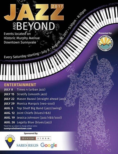 Jazz & Beyond Series 2017 Entertainment