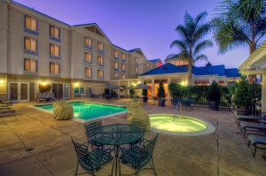 Hilton Garden Inn Mountain View, CA Hotel Pool Area
