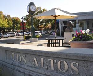 Downtown Los Altos in Silicon Valley