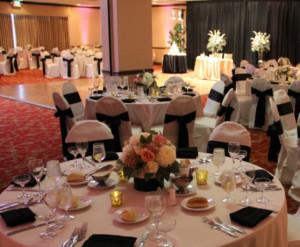 Biltmore Hotel and Suites Santa Clara Wedding Reception