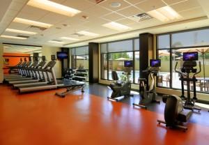 Courtyard Campbell Fitness Center