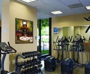 Embassy Suites Santa Clara Fitness Center