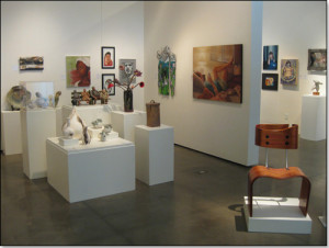 Euphrat Museum of Art Cupertino Installation