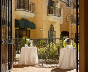Garden Court Hotel Palo Alto View