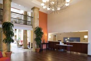 Holiday Inn Morgan Hill Lobby
