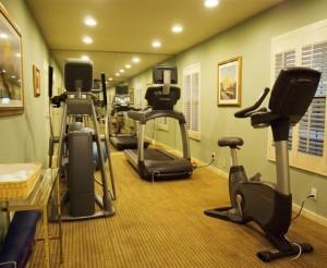 Inn at Saratoga Fitness Room