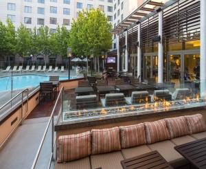 Plaza Suites Santa Clara Outdoor Area