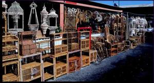 San Jose Flea Market Antique Vendor