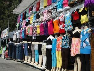 San Jose Flea Market Clothing Vendor