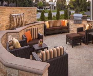 TownePlace Suites Santa Clara Outdoor Patio