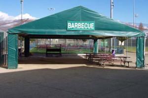 Twin Creeks Sports Complex Sunnyvale BBQ Tent