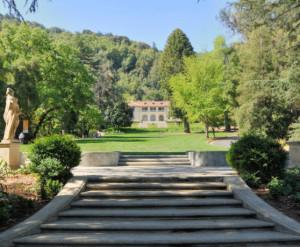 Villa Montalvo Steps