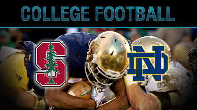 NCAA Division 1 Football - Stanford vs. Notre Dame