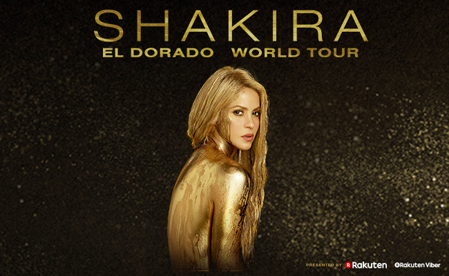 Shakira at SAP Center