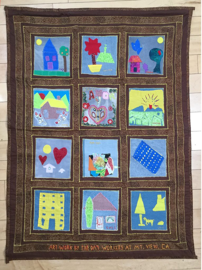 Day Workers Share Stories through Quilts at Los Altos History Museum