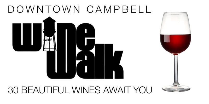 Fall Wine Walk - Downtown Campbell 2018