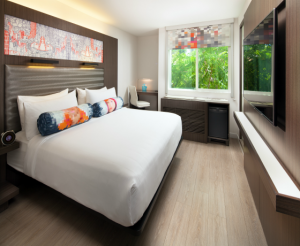 Aloft Sunnyvale King Guest Room