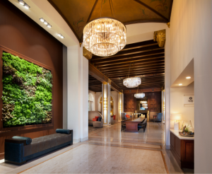 The Westin San Jose West Haven Living Wall
