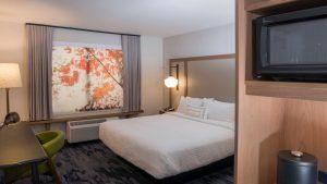 Residence Inn & Fairfield Inn & Suites by Marriott King Guest Room