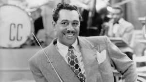 Jazz singer, dancer, and bandleader Cab Calloway