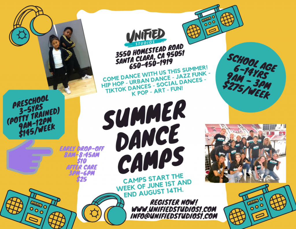 Summer dance Camp Santa Clara